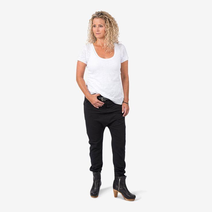 Diamond pants - black