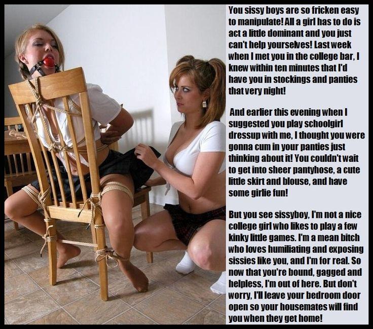 secretary humiliation transvestite