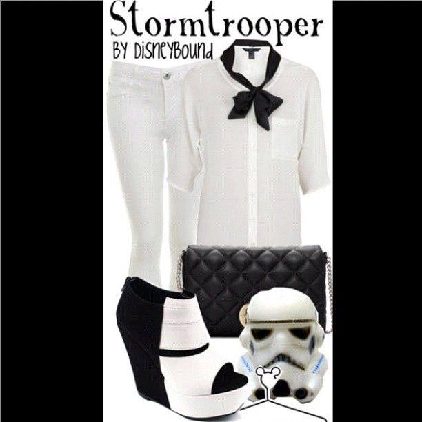 Stormtrooper outfit, I'd find an occasion to wear this