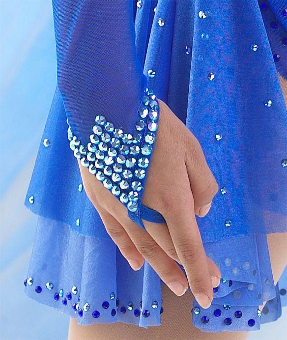 Dance costume inspiration by Rhinestones Unlimited, www.RhinestonesU.com