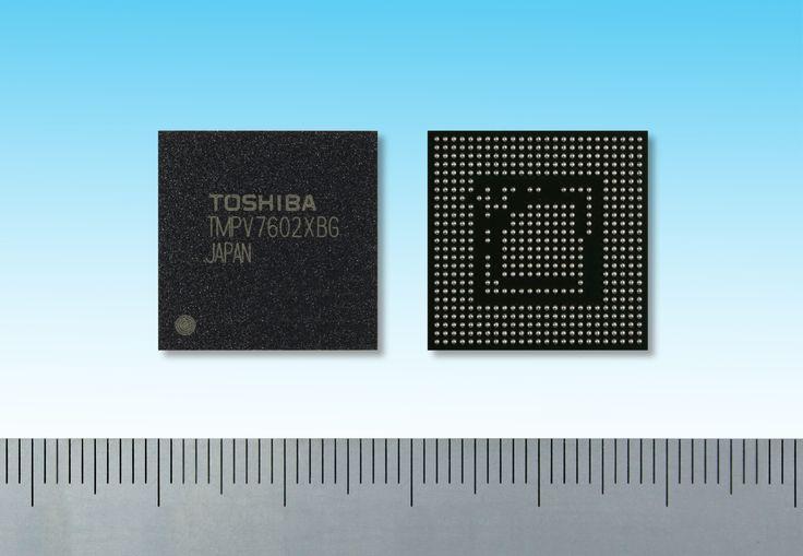 東芝:先進運転支援システム向け単眼カメラに適した画像認識用プロセッサの発売について