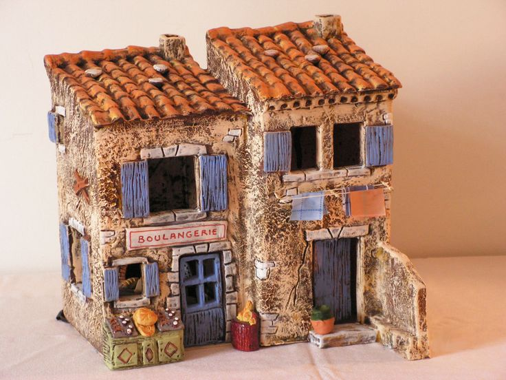 631 best Art house images on Pinterest Ceramic houses, Little - la maison de l artisan