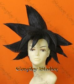 Goku Wig! Will try to make my own but this is helpful