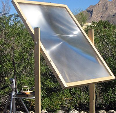 How to get 2000ºF Solar Power – Great For When SHTF purify water, cook food, melt padlocks and metal and start a fire instantly #shtf #solar #survival