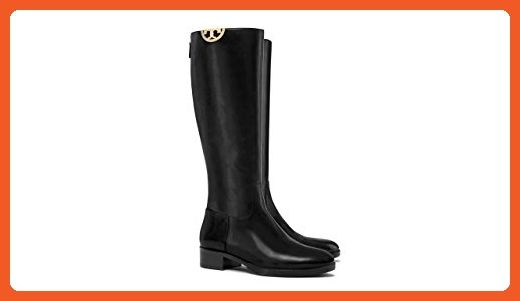 Tory Burch Sidney Leather Boot, Black, 10 - Boots for women (*Amazon Partner-Link)