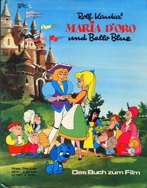 Muzikál Rolfa Kauku Zlatá Mária a modrý Bello