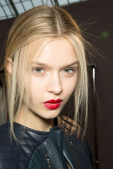 Red Signals at Rochas - Best Spring 2013 Fashion Week Makeup Looks