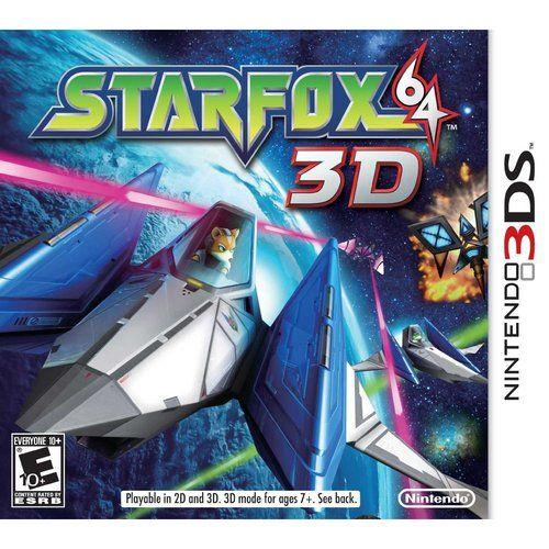 Great games - Star Fox 64 3D for Nintendo 3DS (originally on the Nintendo 64)
