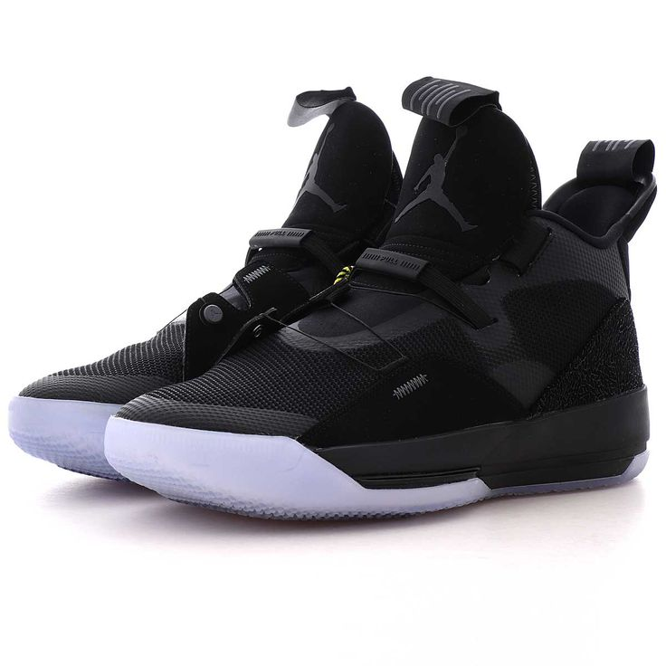 jordan AIR JORDAN XXXIII noir/gris foncé/blanc | Nike air shoes ...