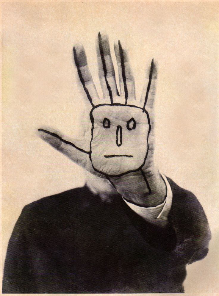 """Self-portrait"" ---------------- (c) Saul Steinberg"
