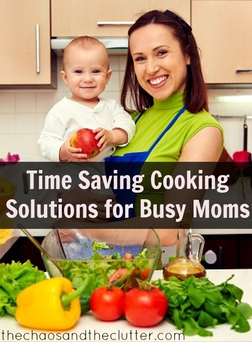 Real Time Saving Cooking Tips for Busy Moms - huge list of ideas