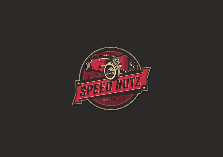 Speed Nutz Hot Rod Shop logo