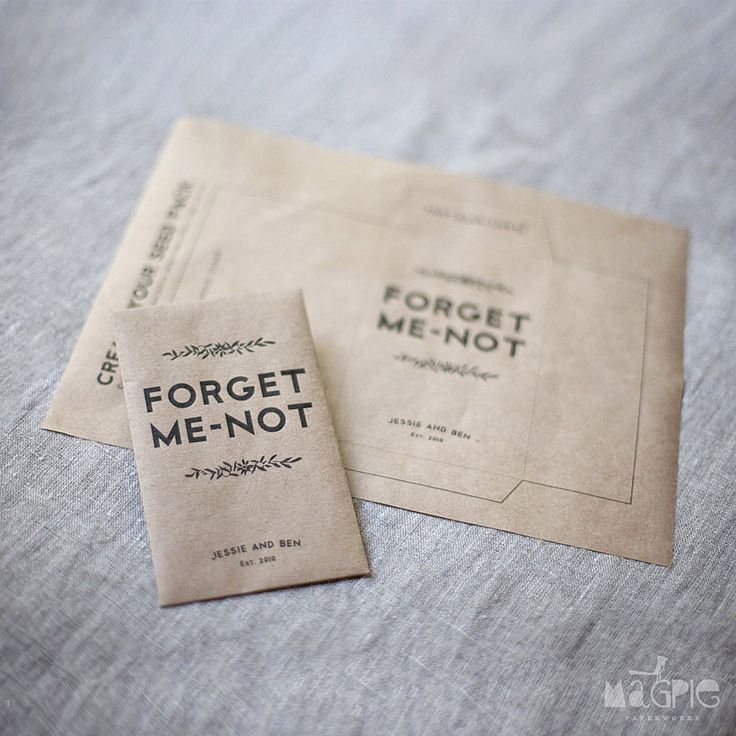 10 Forget Me Not Seed Packet Favours By Wedding In A: 17 Best Images About Forget Me Not On Pinterest