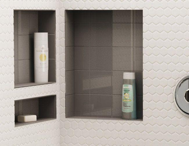 Redi Niche Shower Shelves Shower Shelves Trendy Bathroom Bathroom Shower