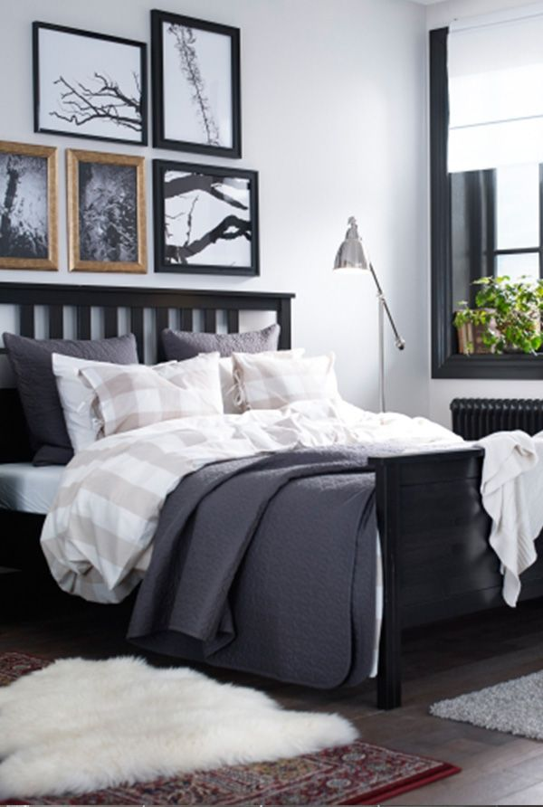 from adding picture frames or a throw blanket find ideas to make your bedroom feel - Bedroom Ideas Ikea