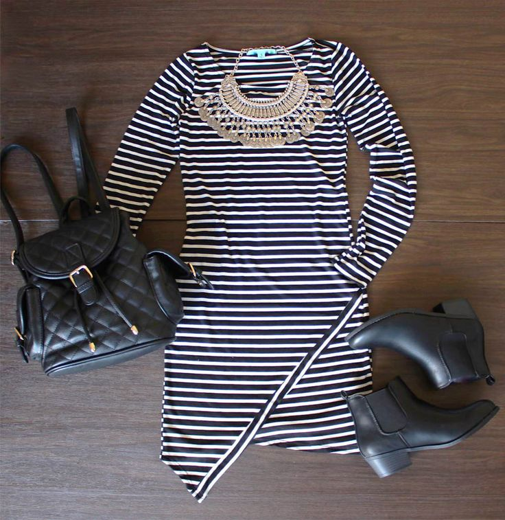 Stripes are never go out of style. It's time to try some now. Tap this photo and find this at CUPSHE.com