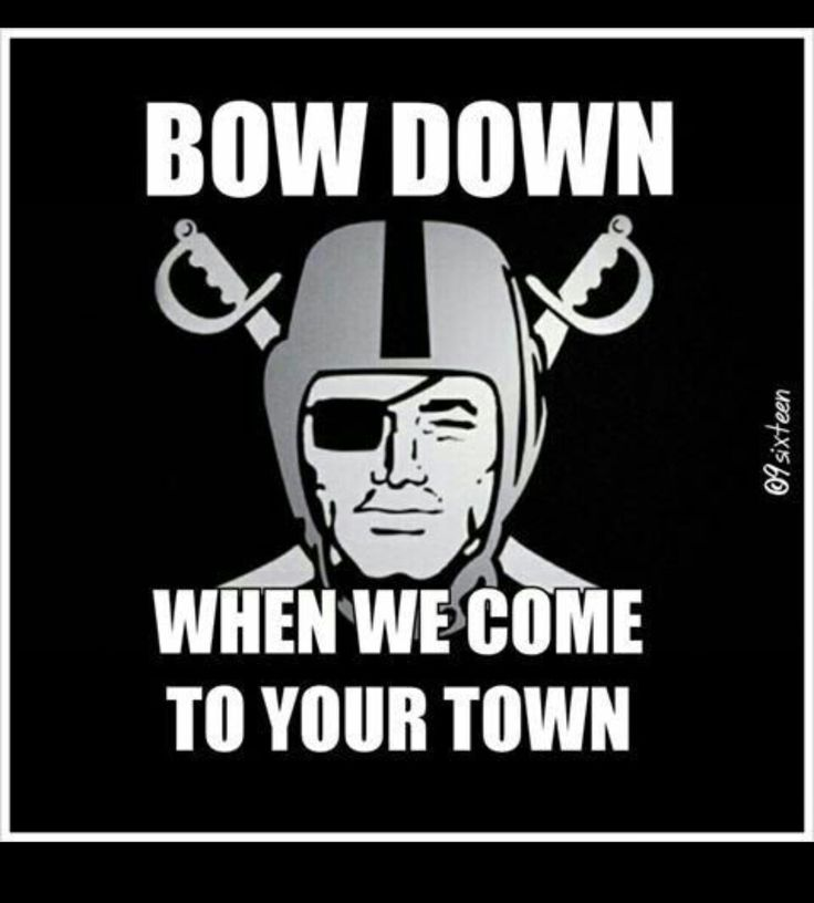 RAIDERS BABY ALL DAY LONG