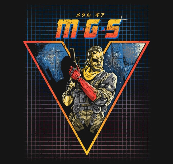MGS V T-Shirt - Metal Gear Solid T-Shirt is $11 today at Ript!