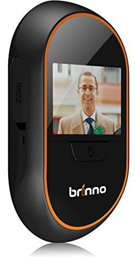 Wearable Devices Tech - Brinno PHVMAC Motion Activated Hidden Front Door Camera -  -   Motion sensing viewer uses a 3 inch LCD panel to display who is at your door without alerting them to your presence  Images are captured and stored on the included 4GB micro SD card whether you're home or not  Images can be reviewed on-screen with the push of a button