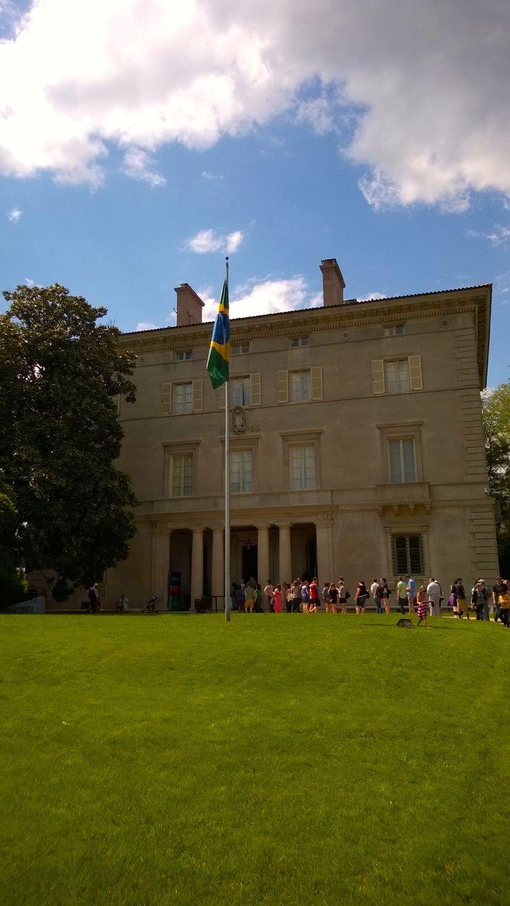 L'ambassade du Brésil @DCEmbassyTour