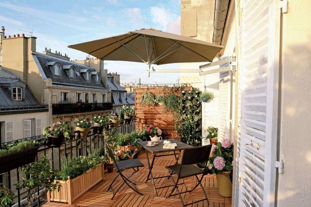 sonnenschirm f r balkon und terrasse home garden pinterest