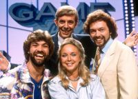 Game For A Laugh - 1981 - 1985 Matthew Kelly, Henry Kelly, Jeremy Beadle and Sarah Kennedy.