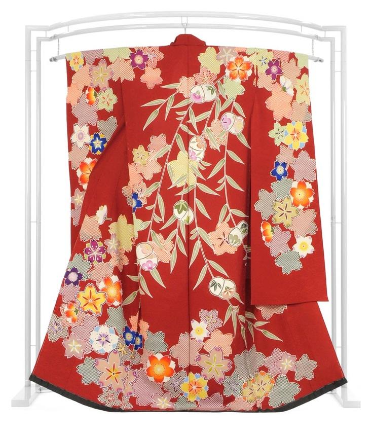 RP: Silk Kimono  Furisode