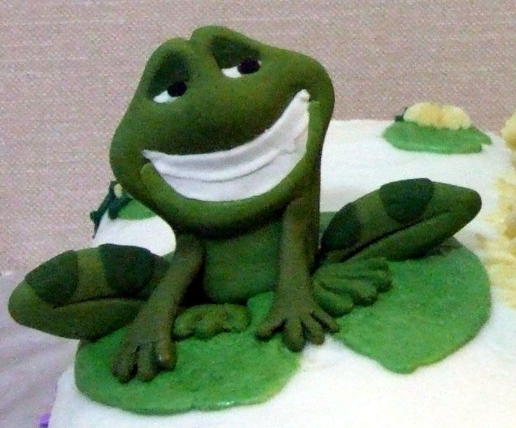 frog cakes   MegzCakes.ca - Princess and the Frog Birthday Cakes