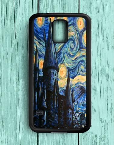 Hogwarts Starry Night Samsung Galaxy S5 Case