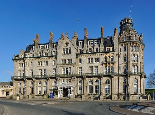 An exterior shot of The Duke of Cornwall Hotel, Plymouth, Devon