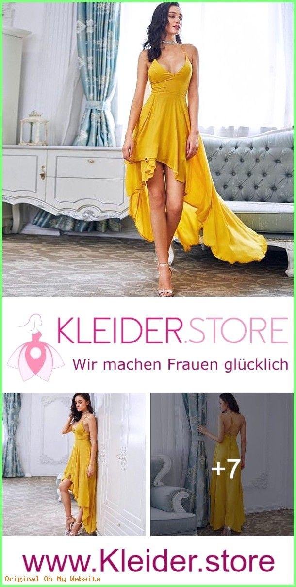 Sommerkleider 2019: GELBES KLEID ALS HOCHZEITSGAST GÜNSTIG ONLINE KAUFEN – JETZT BIS ZU -8…