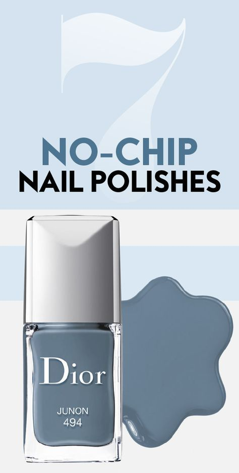 These polishes will actually last through a load of dinner dishes. #NoChipNailPolishes #BestNailPolishes