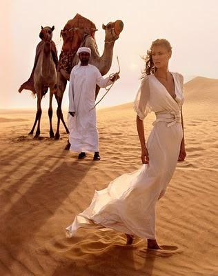 desert look