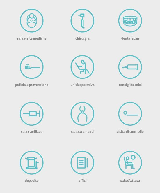 icons centro greco by Raffaele Sabella, via Behance