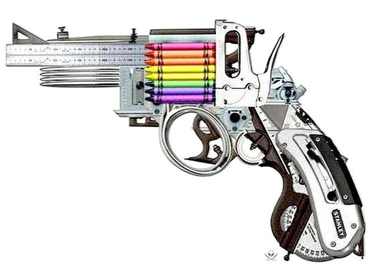 Best Gun Art Images On   Gun Art Revolvers And Pistols