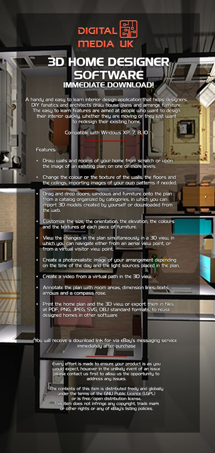 House Plans 3d Software Free Download 2020 3d Home Design Software Software Design Interior Design Software
