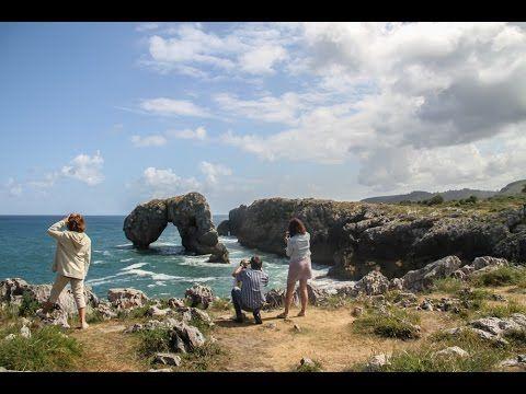 Playas de Llanes. Las mejores playas de Llanes: Torimbia, Toró, Barro, Gulpiyuri... - YouTube