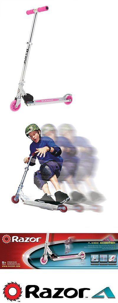 Kick Scooters 11331: Kids Kick Scooter 2 Wheels Pink Toy For Girls Razor Outdoor Skate Birthday Gift BUY IT NOW ONLY: $34.67