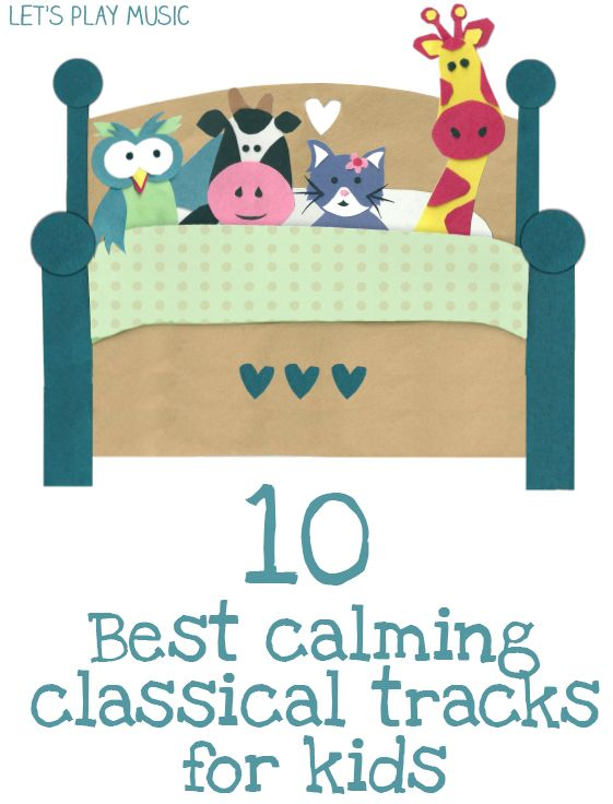 Great list with youtubes. Also lots of other similar articles on this site for lots of different moods/playtimes etc