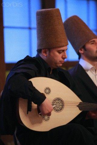 Istanbul; sufi musician