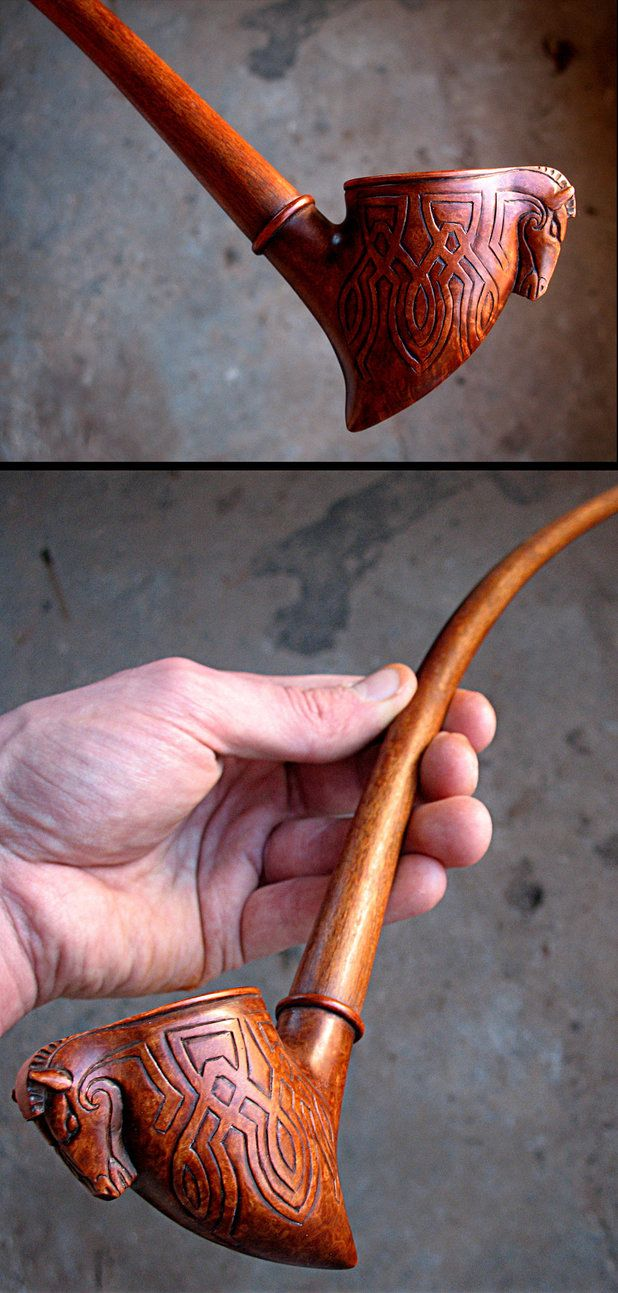 Rohirrim pipe by HouseOfLostPlay.deviantart.com on @DeviantArt