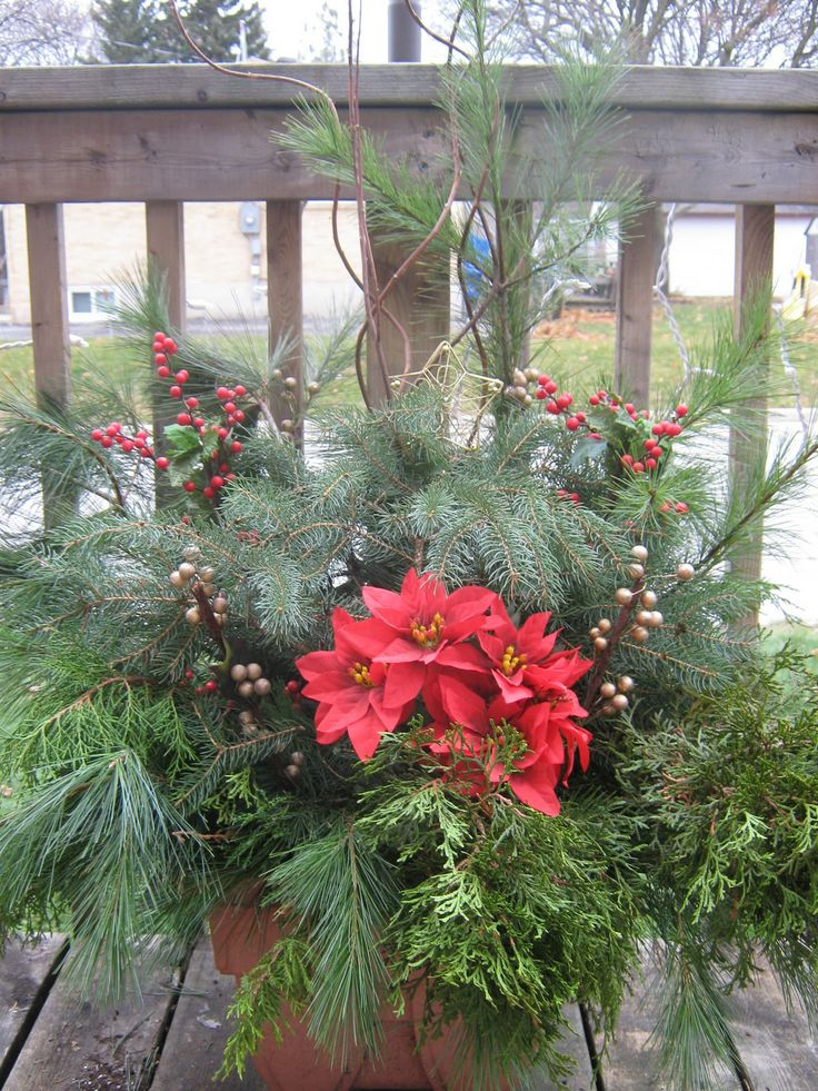 20 best deck the deck images on pinterest christmas for Garden decking ornaments