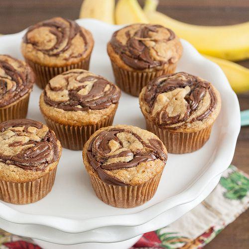 Muffins de Nutella - Receitas Para Yammi