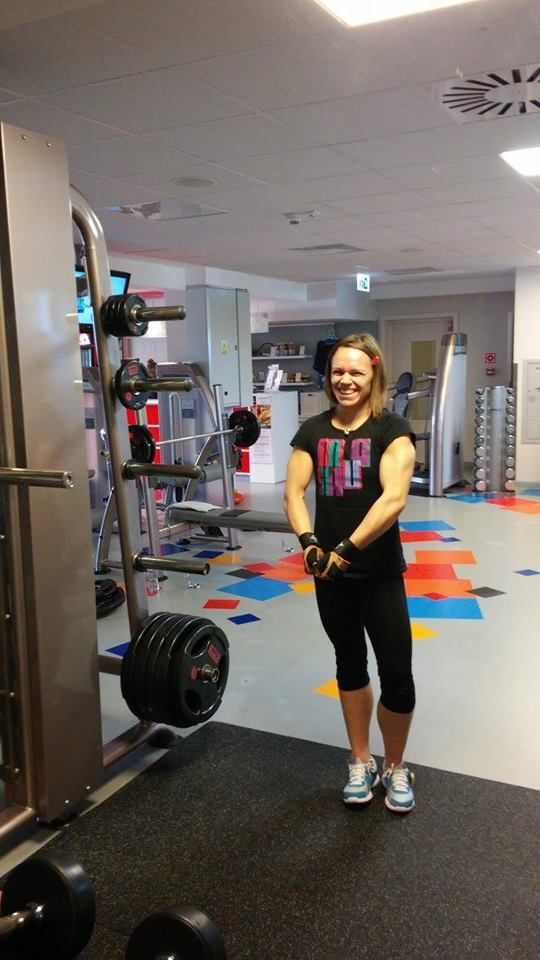 Z treningu....  Chcesz trenować ze mną na siłowni? http://g-combat.pl/silownia/