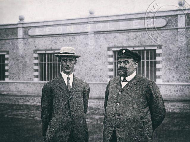 Le 5 octobre 1908 dans le ciel : Wilbur Wright fait voler MM. Léon Bollée et Léon Pellier