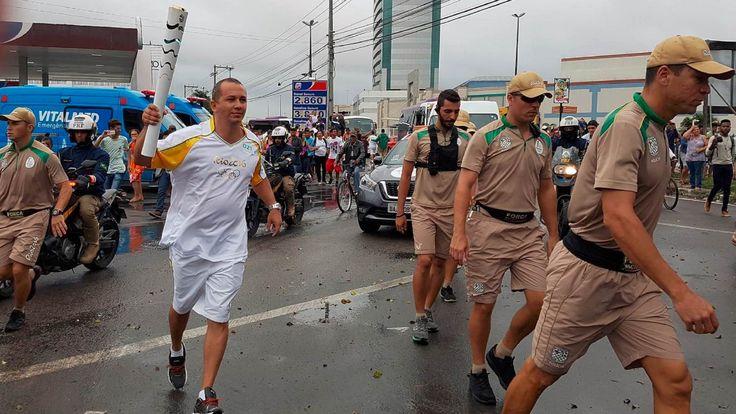 Revezamento da Tocha Olímpica - Rota Rio 2016 e Condutores da Tocha