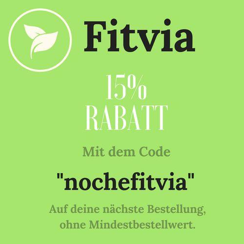 Fitvia 15 % Rabatt ohne Mindestbestellwert