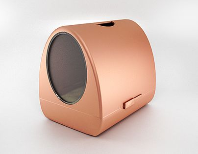 "Check out new work on my @Behance portfolio: ""Copper litter box concept""…"