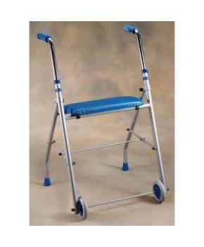 Andador con ruedas y asiento APEX
