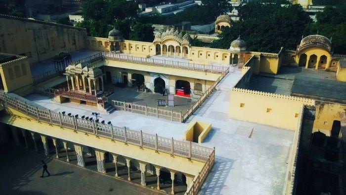 City Mahal, Topview, Jaipur, Rajasthan